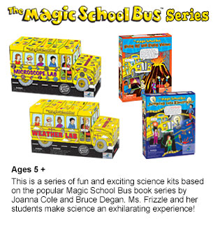 Click for The Magic School Bus Series