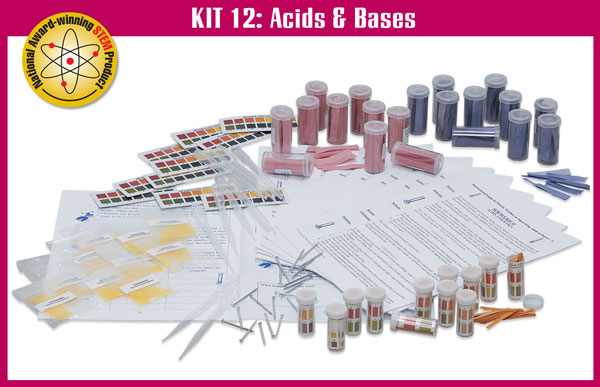 SS-925-1112 Kit 12: Acids and Bases